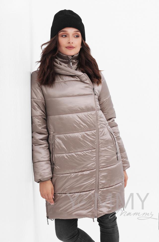 Купить Куртка 3 в 1 золотисто-бежевая